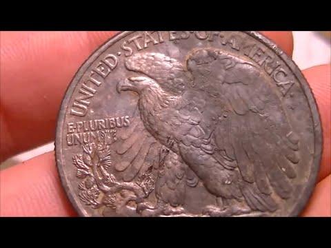 Virgin 1942 house hunt big silver over 100 coins metal detecting