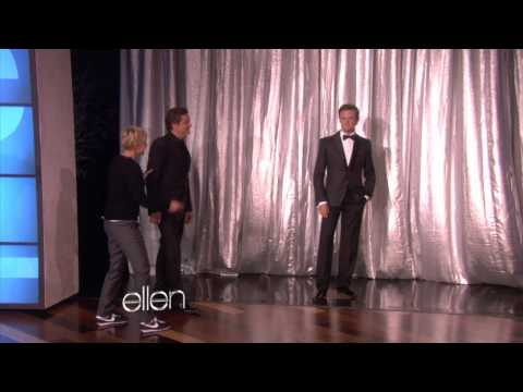 Ellen Surprises Colin Firth with His Wax Figure!
