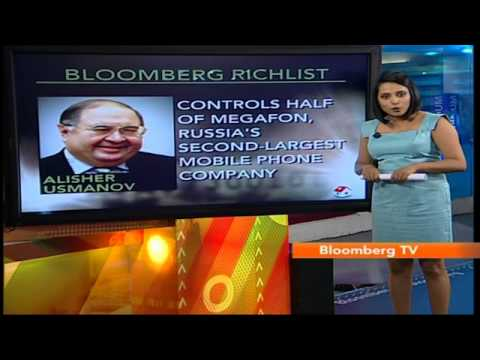 In Business: Bloomberg Richlist: Alisher Usmanov