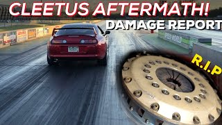Cleetus Aftermath - Toyota Supra Damage Report