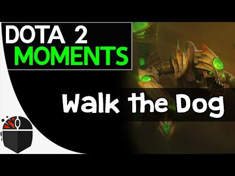 Dota 2 Moments  Walk the Dog