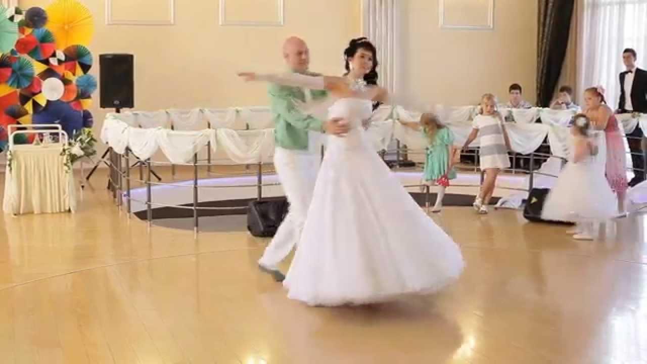 Видеоурок вальса на свадьбу