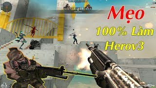 1 Số Mẹo 100% Thành Herov3 Trong Zombie Escape Nâng Cấp
