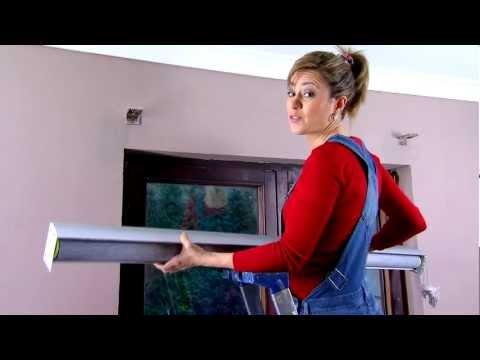 Como instalar estores noche y dia cortinadecor presentado - Colocar estores enrollables ...