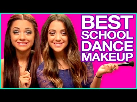 NikiAndGabiBeauty's BEST Homecoming Dance Makeup Routine!