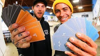 LUCKIEST GAME OF SKATE ROULETTE EVER?!