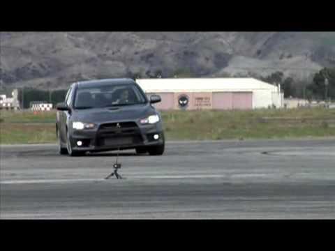 Mitsubishi Evo X: Faster than the Evo IX?  - by Inside Line