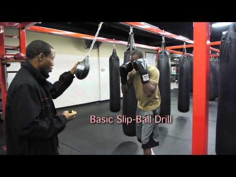 slip ball drill