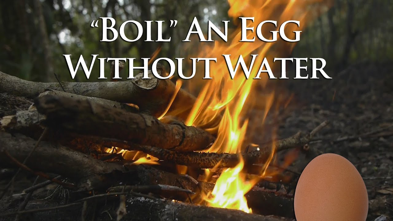 Egg Boiled or Not Boil an Egg Without Water