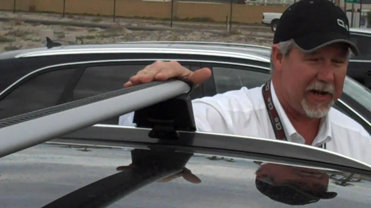 Audi Q5 Training Coronado Roof Cross Bars Youtube