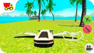 Flying Car Free: Extreme Pilot - Kids Car Games