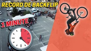DÉFI : FAIRE UN MAXIMUM DE BACKFLIP EN 1 MINUTE !