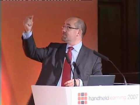 Handheld Learning 2007 - Jim Knight, UK Minister for Schools