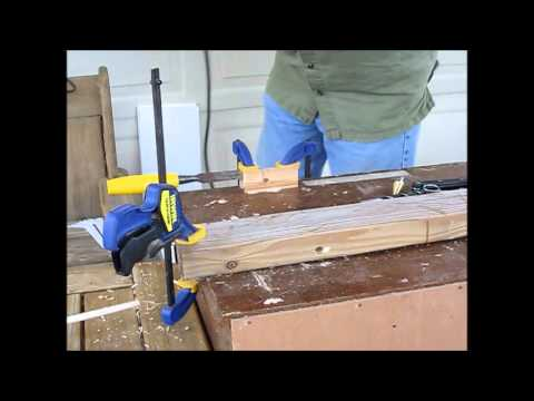 Balsa Wood Dowel Making
