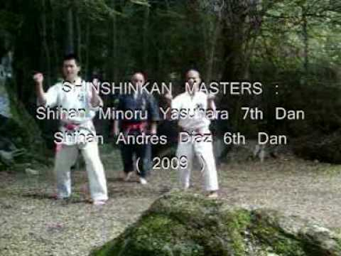 SHINSHINKAN ISSHIN RYU KARATE  - MASTERS TRAINING IN CAMP 2009 Image 1