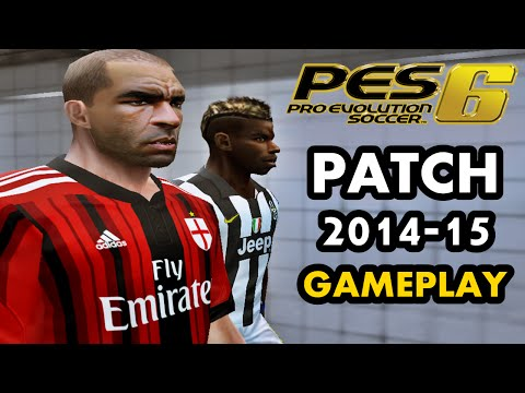 Pes 6 | Patch 2015 | Gameplay #3