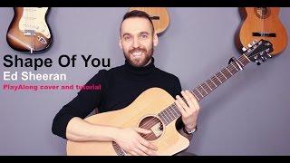 Download Lagu Ed Sheeran - Shape of You (guitar cover with lyrics and chords) Gratis STAFABAND