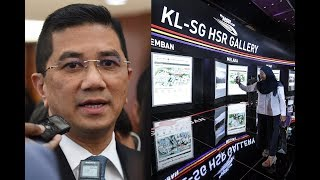 Azmin: Mutual decision to postpone KL-S'pore HSR project