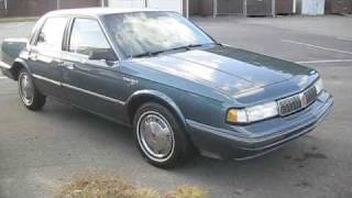 1994 Oldsmobile Cutlass Ciera Tour and First Drive