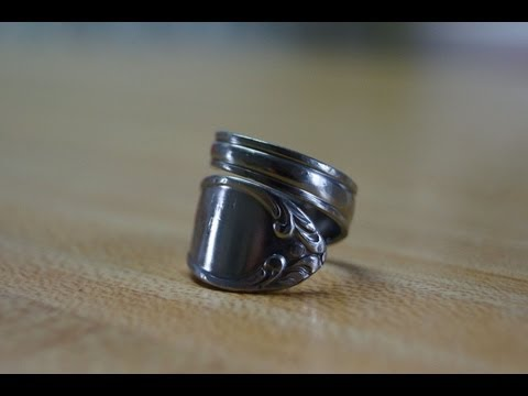 How to: Spiral Spoon Ring