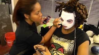 Character Makeup at Cosmix School of Makeup Artistry