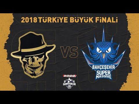 2018 Türkiye Büyük Finali: Royal Bandits ( RB ) vs Bahçeşehir SuperMassive ( SUP )