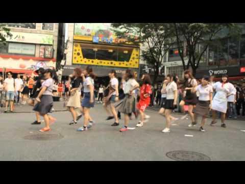 [mannam Wackyz]  wonder Girls - Like This Flash Mob In Hongdae video