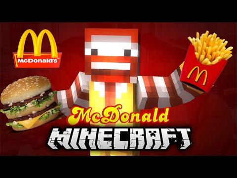 McDONALD W MINECRAFT?!