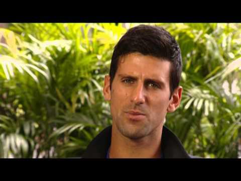 Sony Open Tennis interview with Novak Djokovic