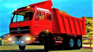 Euro Truck Simulator 2 (Mercedes Benz NG 1632) (+Download) 1.27x