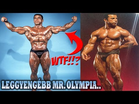 A VALAHA LÁTOTT LEGGYENGÉBB MR. OLYMPIA - Ekkora mázlit! (EZT NEM FOGOD ELHINNI!)