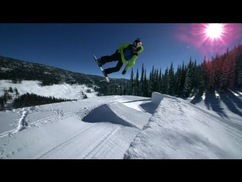Red Bull Supernatural - One of a kind snowboard competition