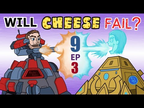 Will Cheese Fail Season 9 Episode 3 -- Starcraft 2 [LAGTV]