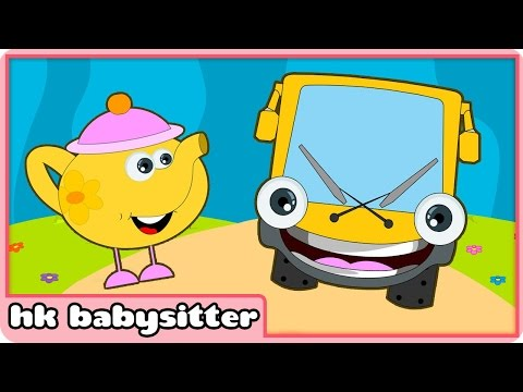 Wheels On The Bus Go Round and Round | Nursery Rhymes Collection For Babies and Toddlers