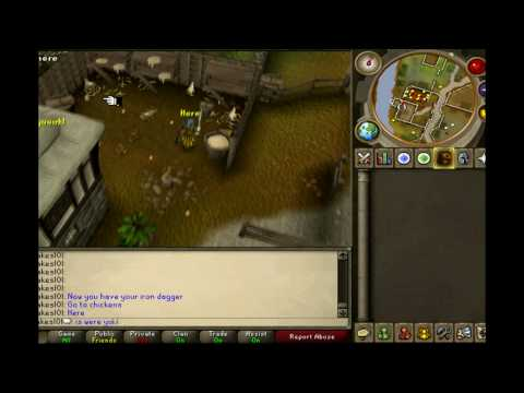 Runescape – f2p defence pure guide 1-60