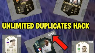 PACYBITS FUT 19  HACK DUPLICATES*NO ROOT*- HOW TO GET UNLIMITED PLAYER DUPLICATES