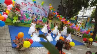 Múa mừng 20-11 trường mầm non 11A Bình Thạnh