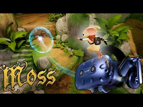 I Expected To Hate This. I LOVED It! Moss on the Vive Pro