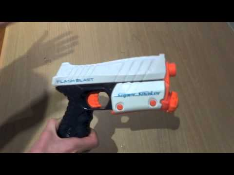 NERF Super Soaker Flash Blast Review