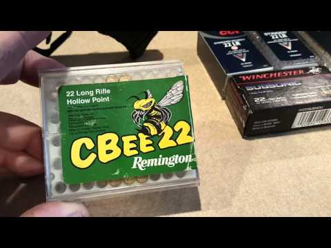 Walther P22 ammo review
