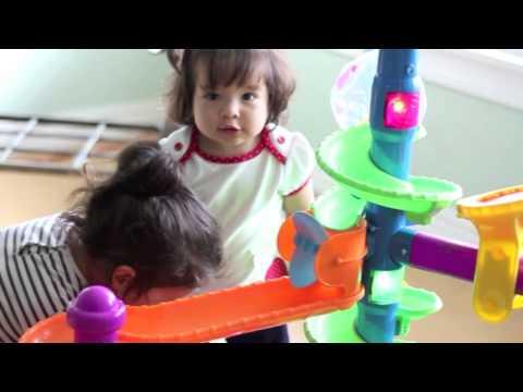 Cómo funciona el juguete de bebés Ballapalooza de Fisher Price | Ahorros para Mamá