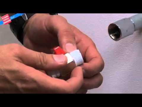 Ferretotal c mo instalar una llave de paso youtube for Como desarmar una llave de ducha