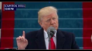 President Trump Inauguration Speech - Set to Inspirational BG Music