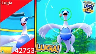 LEGENDARY LUGIA RAID IN POKÉMON GO! MY FIRST LEGENDARY IN POKÉMON GO!