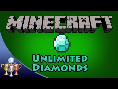 Minecraft [PS4] Unlimited Diamonds Glitch (Also works with all block Iron,Gold, etc)