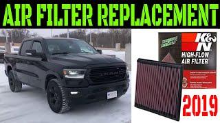 2019 Ram 1500 Air Filter Replacement Video