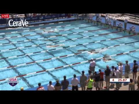 Michael Phelps 100 Back Prelims