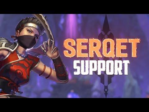Serqet Support: BEST ASSASIN SUPPORT PERIOD! - Incon - Smite