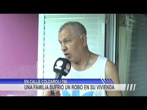 Una familia fue victima de la inseguridad al sufrir un robo en su casa