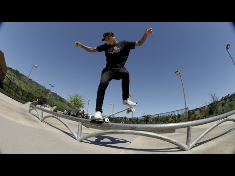 "Nyjah Huston ""Casually Cruising"""